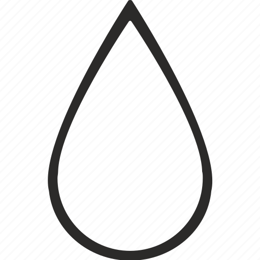 drop, fluid, oil, water icon