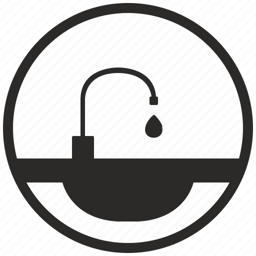 Dishes, supply, tap, washing, water icon - Download on Iconfinder