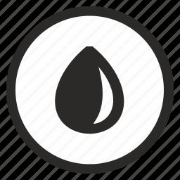 drop, fluid, supply, washing, water icon