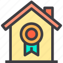 award, best, home, property, smart icon