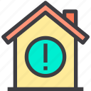 home, information, property, smart icon