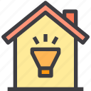 home, light, property, smart icon