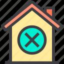 home, property, remove, smart icon