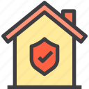 home, property, safe, security, smart icon