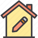home, property, setting, smart icon