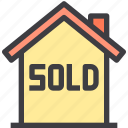 home, property, smart, sold icon