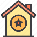 home, property, smart, star icon