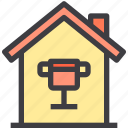 home, property, smart, trophy icon