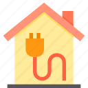 electrical, home, property, smart icon