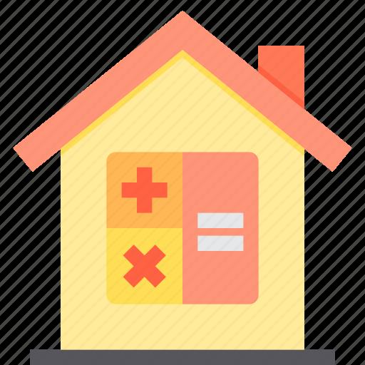 fianancial, home, loan, property, smart icon