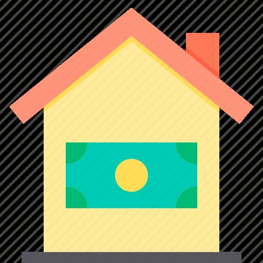 home, loan, property, smart icon