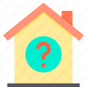 home, property, question, smart icon