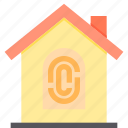 home, key, property, smart icon