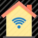 home, property, smart, wifi icon