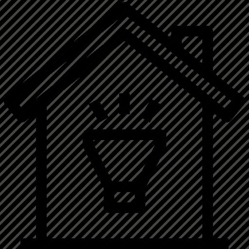 home, light, property, smart icon