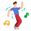 dance, dancer, dancing, party, people icon