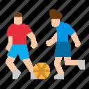 ball, football, player, playing, sport