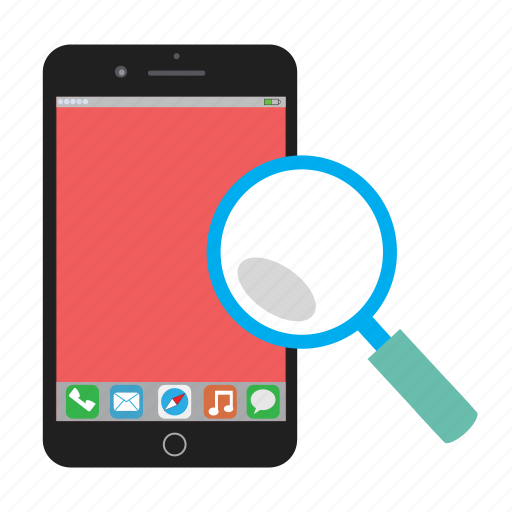 iphone, iphone 6 plus, magifier, magnifying glass, phone, zoom icon