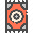 appliance, carpet, decoration, floor, rug icon