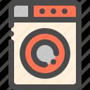 appliance, housework, laundry, machine, washing