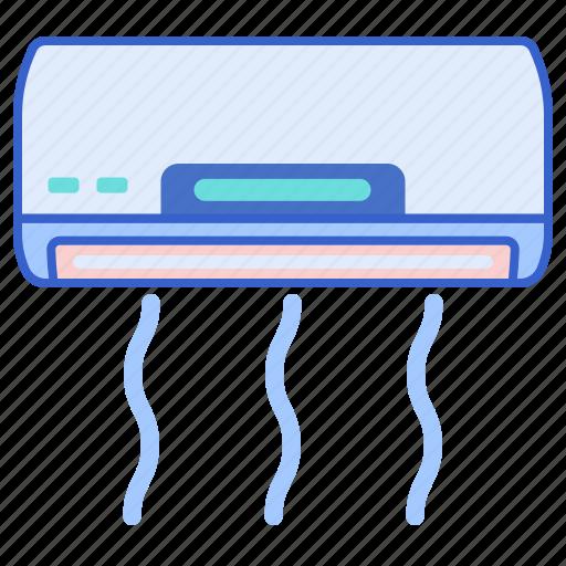 air, conditioner, indoor icon