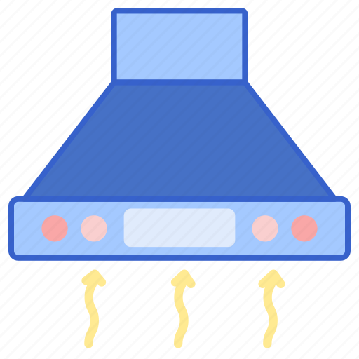 Cooker, hood, exhaust, kitchen icon - Download on Iconfinder