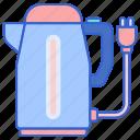 electric, kettle, heater, water