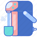 boiler, electric, water icon