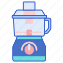 food, processor, preparation icon