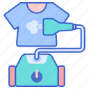 clothes, garment, steamer icon