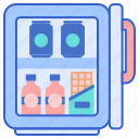 fridge, mini, refrigerator icon