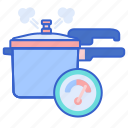 cooker, pot, pressure icon