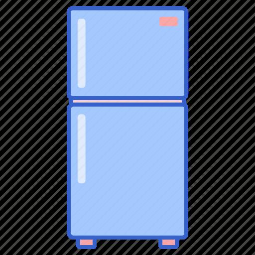 Refrigerator, fridge, icebox icon - Download on Iconfinder