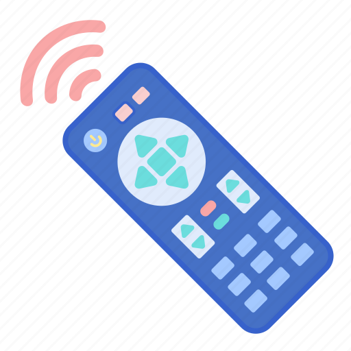control, remote, tv icon