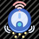 hoover, robotic, vacuum icon