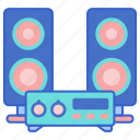 sound, speakers, system icon