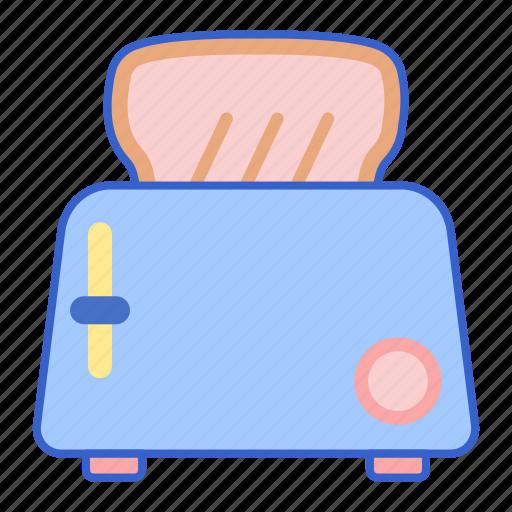 oven, toaster, toasting icon