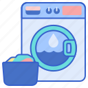 laundry, machine, washing icon