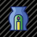appliance, aroma, lamp