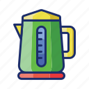 appliance, electric, kettle icon