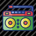 appliance, audio, radio icon