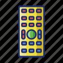 appliance, control, remote icon