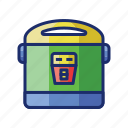 appliance, cooker, rice icon