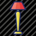 appliance, lamp, light, standing