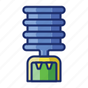 appliance, cooler, water icon