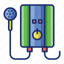 appliance, heater, water icon
