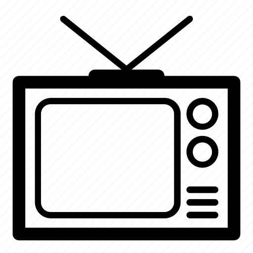 cinema, film, home appliance, television, tv, tv set icon