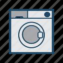 appliances, cartoon, home, home appliances, illustration, machine, washing machine icon
