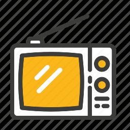 set, television, tv icon