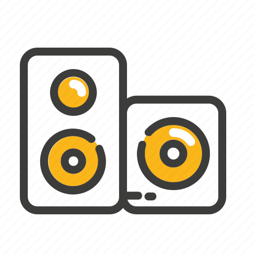 bass, loud, set, song, sound, speaker icon